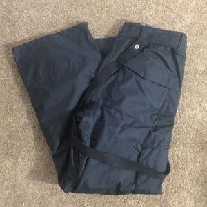 DC Men's Snow Pants with Suspenders